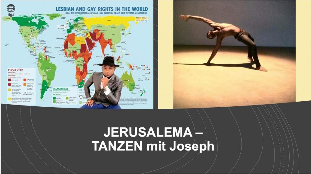 Tanzworkshop mit Joseph