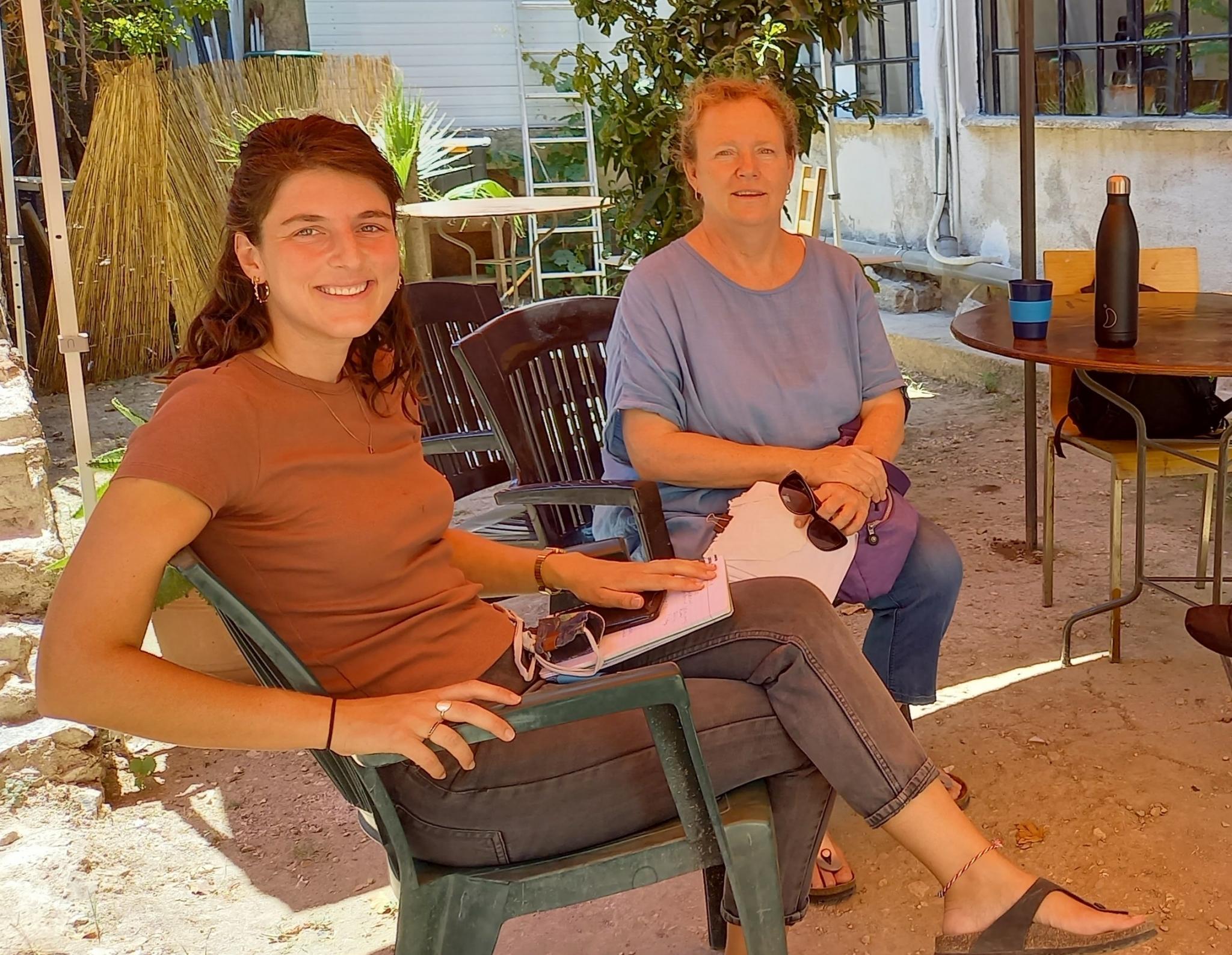 Danielle und Melinda von der Starfish Foundation